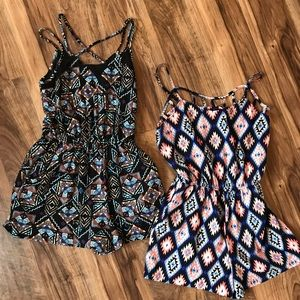 2 Adorable Rompers for Spring/Summer